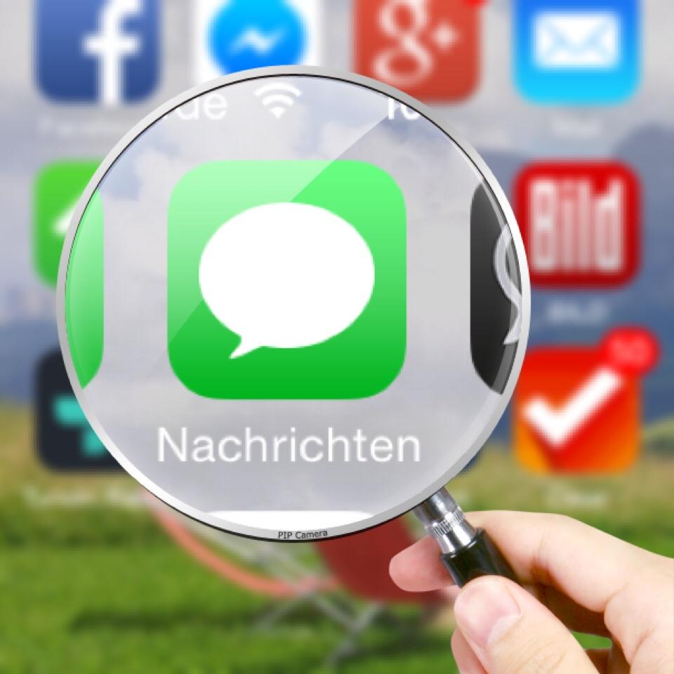 SMS sichern