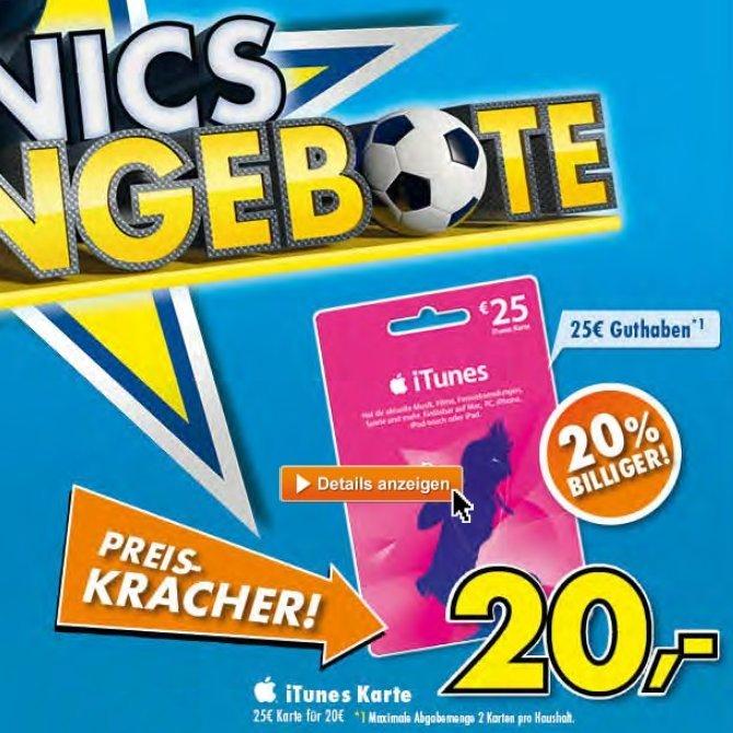Euronics iTunes Gutschein