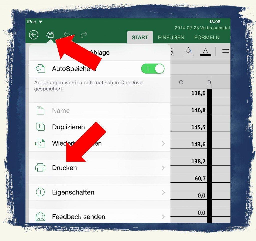 iPad AirPrint schnurlos drucken Netzwerk 2