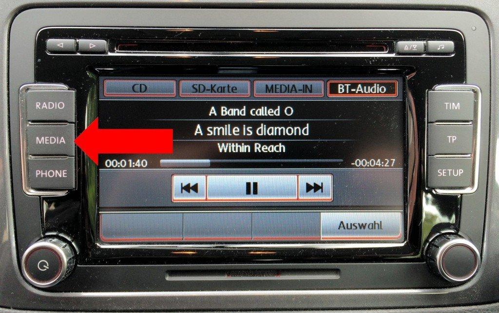 iPhone Autoradio Bluetooth koppeln Verbindung hergestellt 4