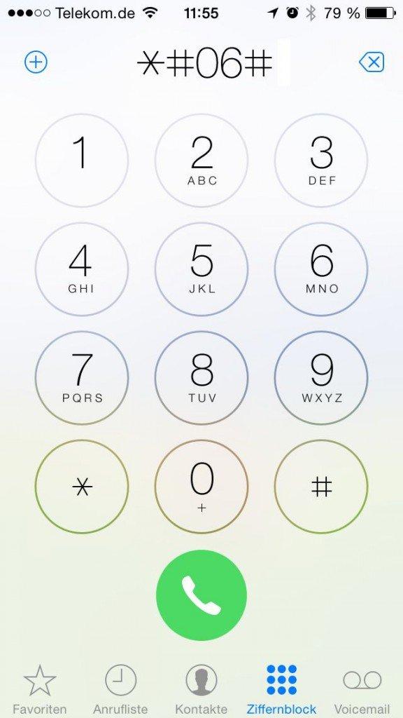 iPhone Diebstahl gestohlen IMEI Nummer melden Polizei