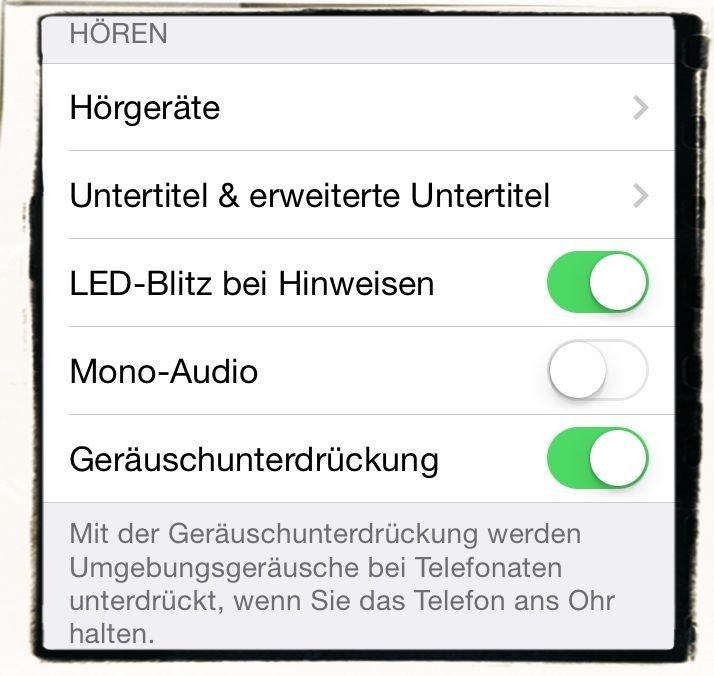 iPhone LED Blitz Anruf Mail SMS aufleuchten 1