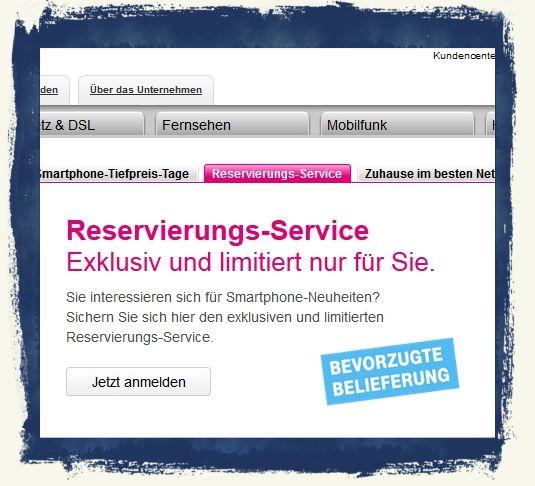 iPhone6 iPhone 6 vorbestellen reservieren Telekom T-Mobile Vodafone O2 Bild 1