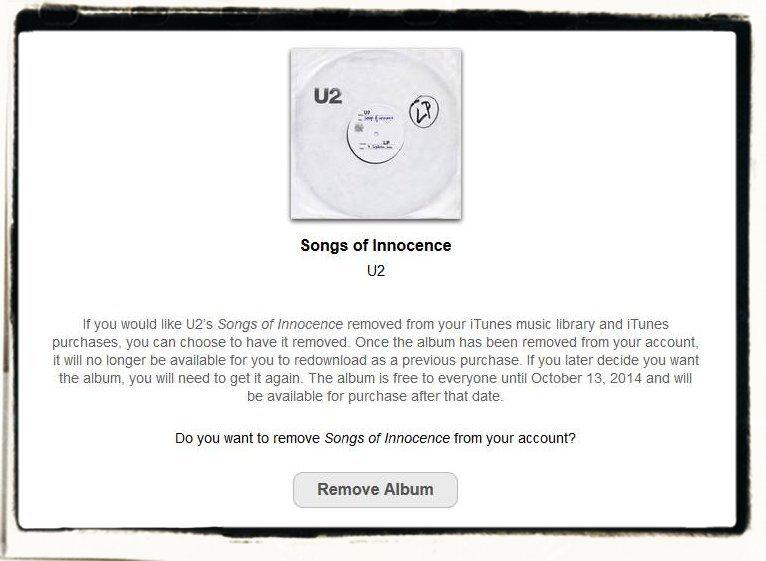 Apple iPhone 6 plus U2 Innocence Album iTunes löschen Speicher freimachen 2