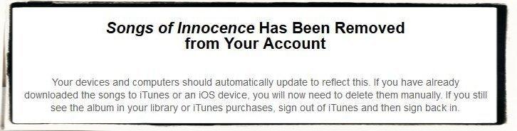 Apple iPhone 6 plus U2 Innocence Album iTunes löschen Speicher freimachen 4