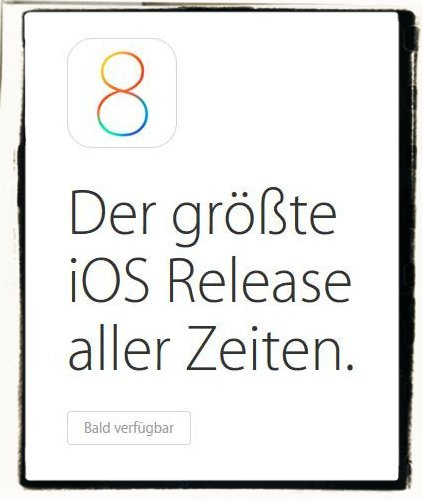 iOS8 installieren iPhone iPad iPod
