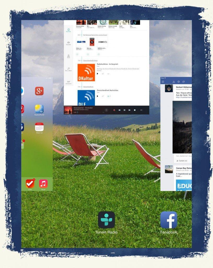 iPad Offene App Programme beenden Homebutton Home-Button schließen
