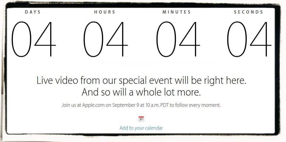 iPhone 6 Apple Keynote 09.09.2014 Live Stream