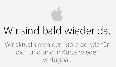 iPhone 6 Apple Store Wir sind bald wider da KLEIN