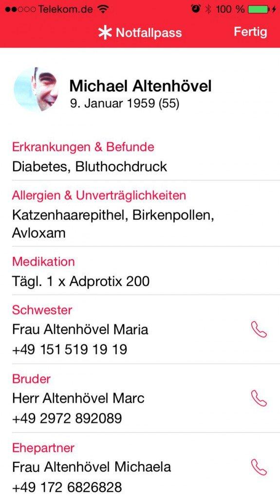 iPhone6,iPhone,6,Anleitung,Notfall,Notfallpass,Emergency,Call,Sperrbildschirm 5