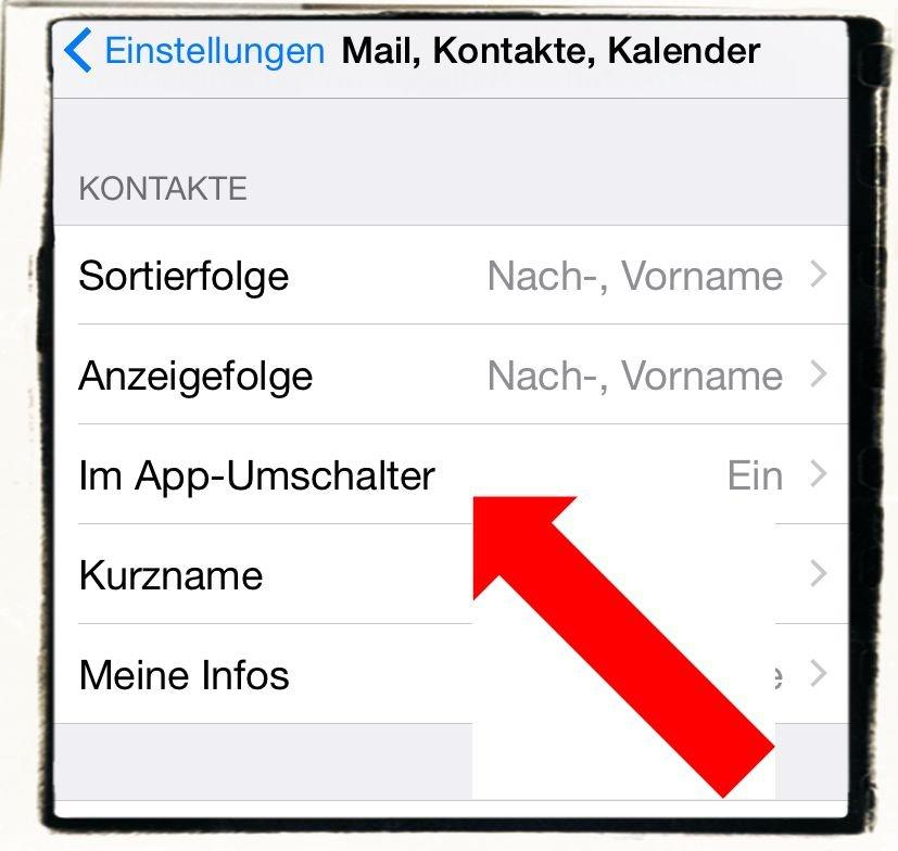 iPhone6,iPhone,6,Anleitung,Verlauf,Favoriten,Kontakte,Doppelklick,Homebutton 3