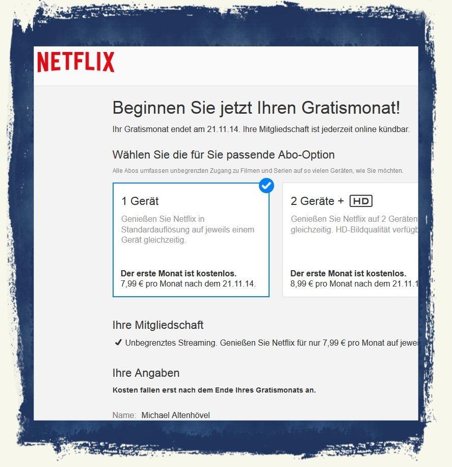 Netflix,iPhone,Fernseher,übertragen,streamen,kostenlos,Probemonat 3