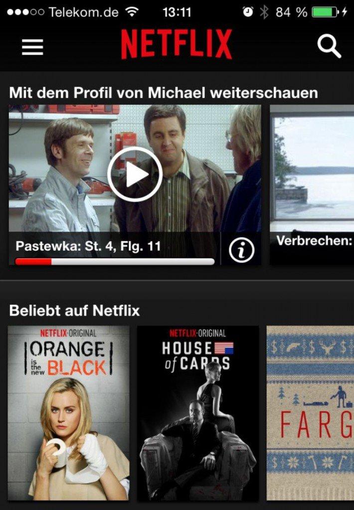 Netflix,iPhone,Fernseher,übertragen,streamen,kostenlos,Probemonat 6