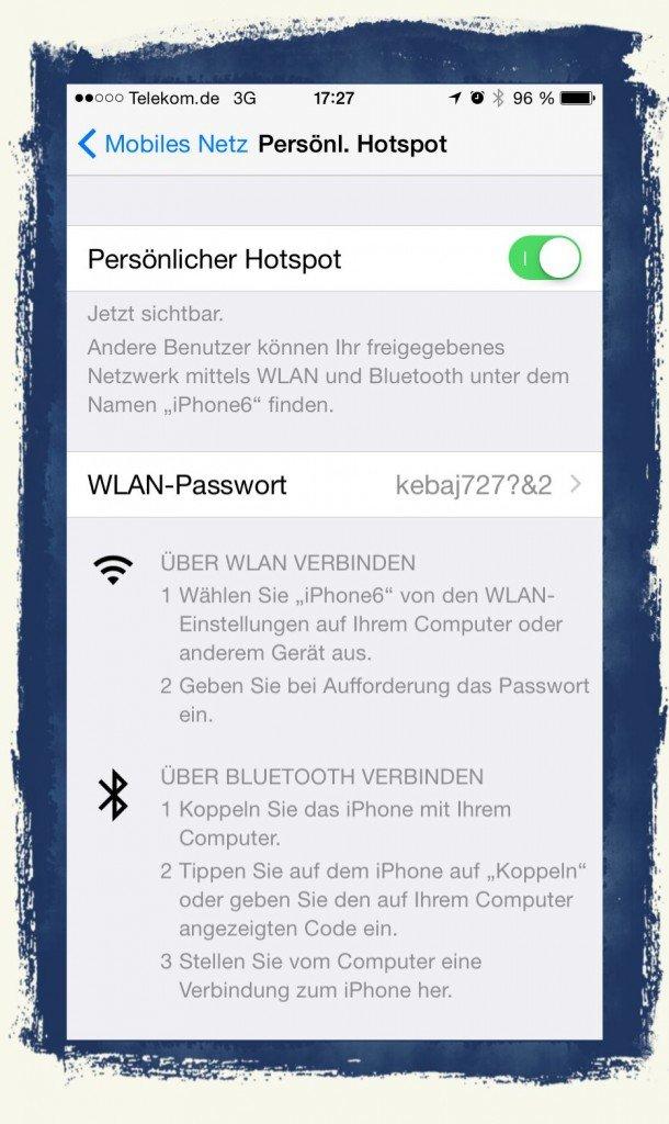 iPad,Cellular,Router,WLAN,W-LAN,Persönlicher Hotspot 1