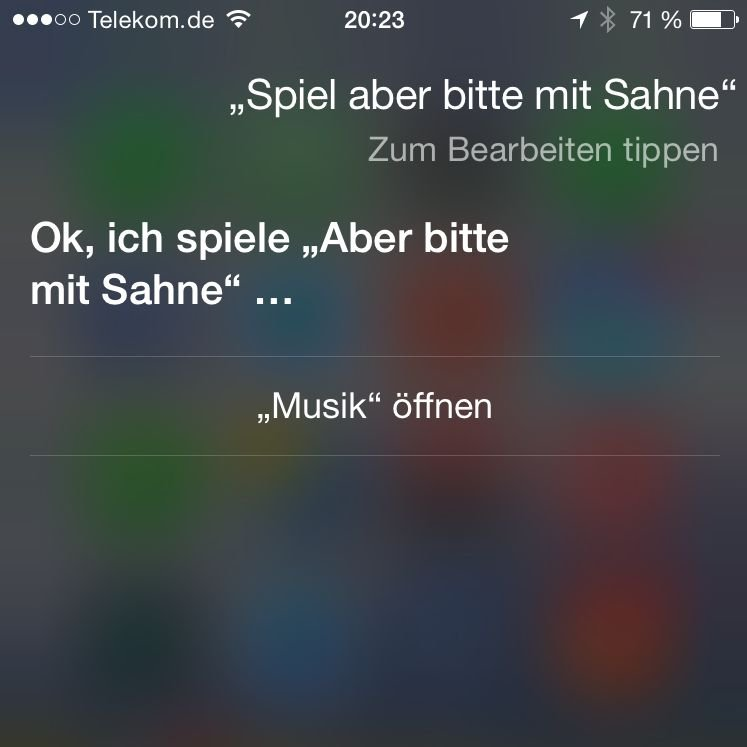iPhone,6,Apple,Siri,Musik,Titel,abspielen,Kommando 1