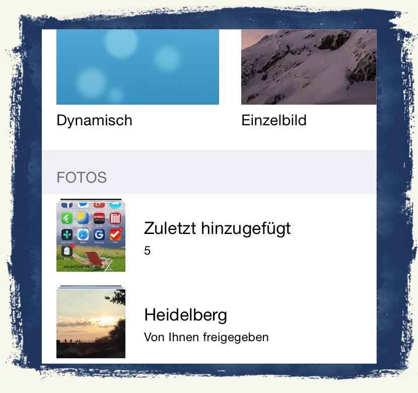 iPhone,6,Sperrbildschirm,Home-Bildschirm,Hintergrundbild,Dynamisch,Einzelbild,Foto 2