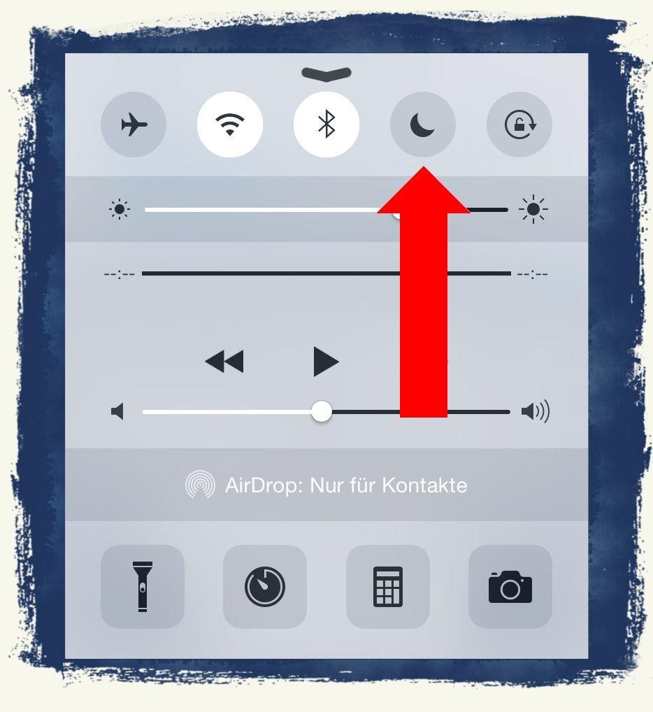 iPhone6,iPhone,6,Anleitung,Apple,Ruhe,Ruhemodus,Modus,Nicht Stören,stören 1