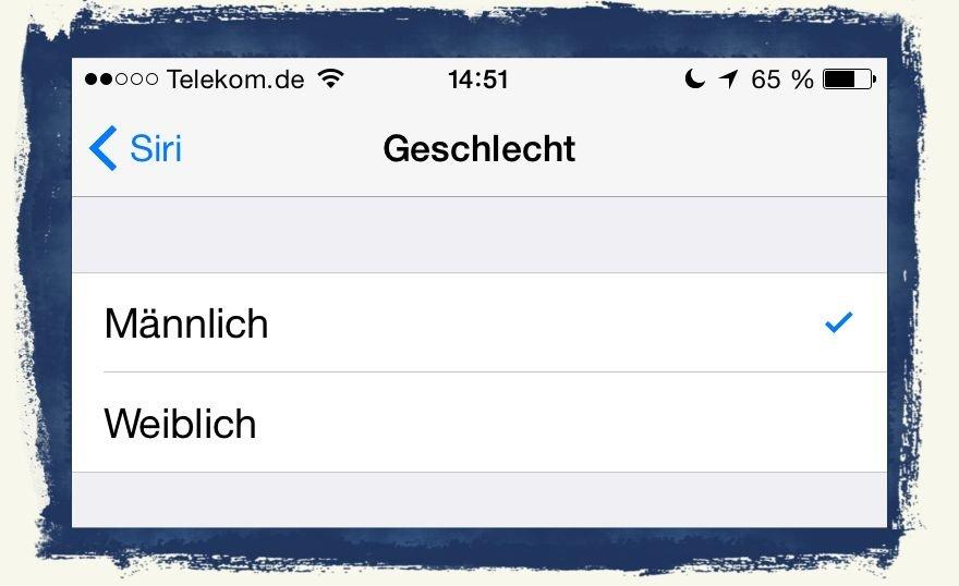 iPhone,Apple,Siri,Stimme,Sprache,Mann,Frau,männlich,weiblich 3