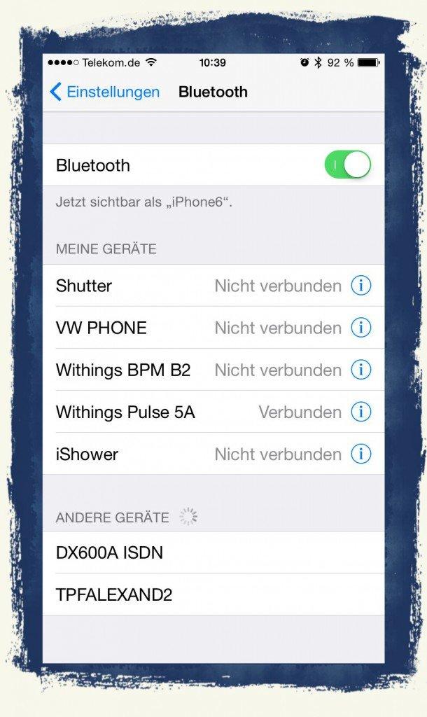 iPhone,Daten,Datenschutz,Einstellungen,Sicherheit,Überwachung,Kurzstreckenfunk,kabellos,Bluetooth,Sichtbarkeit,streamen,schnurlos 1