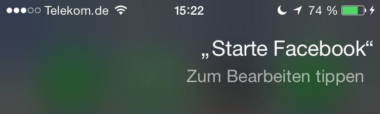 iPhone,Siri,App,starten 1