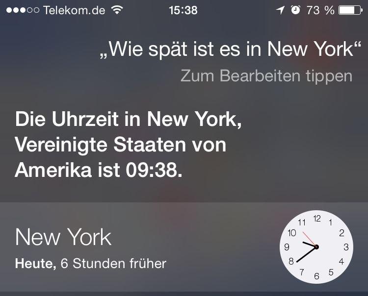 iPhone,Siri,Timer,Uhr,iOS8 3