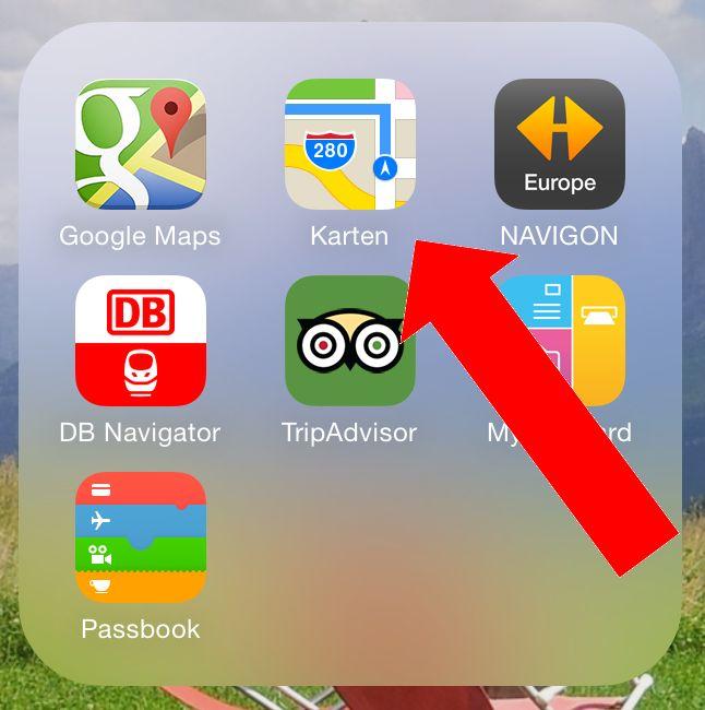 iPhone,Standort,Teilen,Treffpunkt,Mail,Nachrichten,SMS, 1