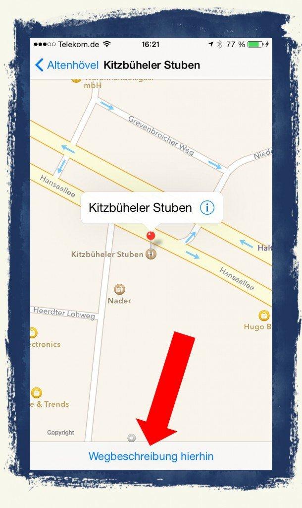 iPhone,Standort,Teilen,Treffpunkt,Mail,Nachrichten,SMS, 5