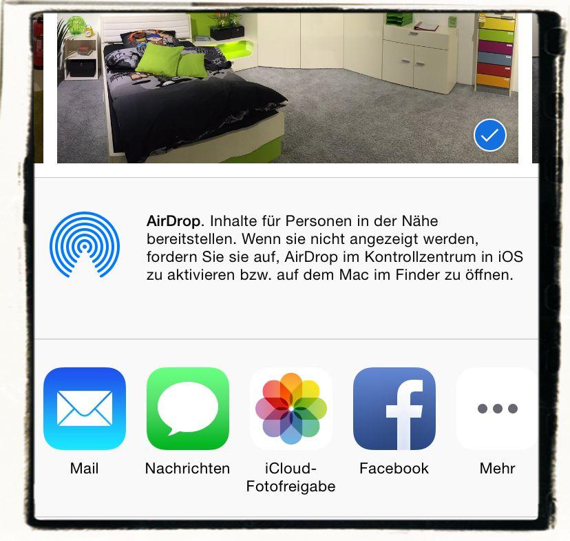 AirDrop,iPhone,iPad,Apple,Daten übertragen 3