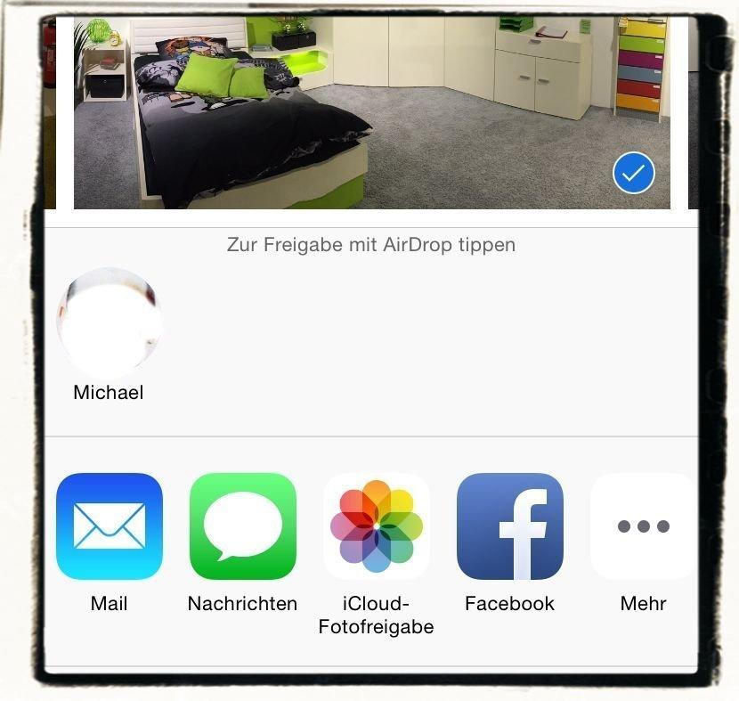 AirDrop,iPhone,iPad,Apple,Daten übertragen 4