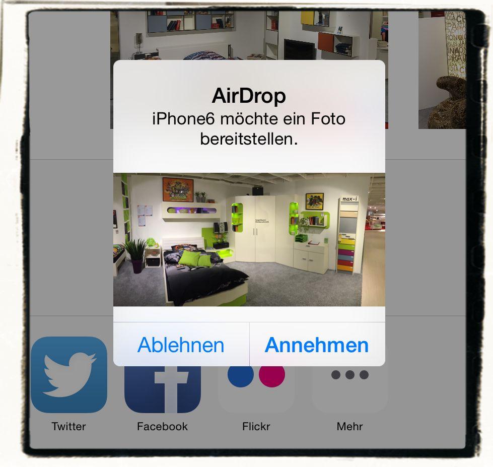 AirDrop,iPhone,iPad,Apple,Daten übertragen 5