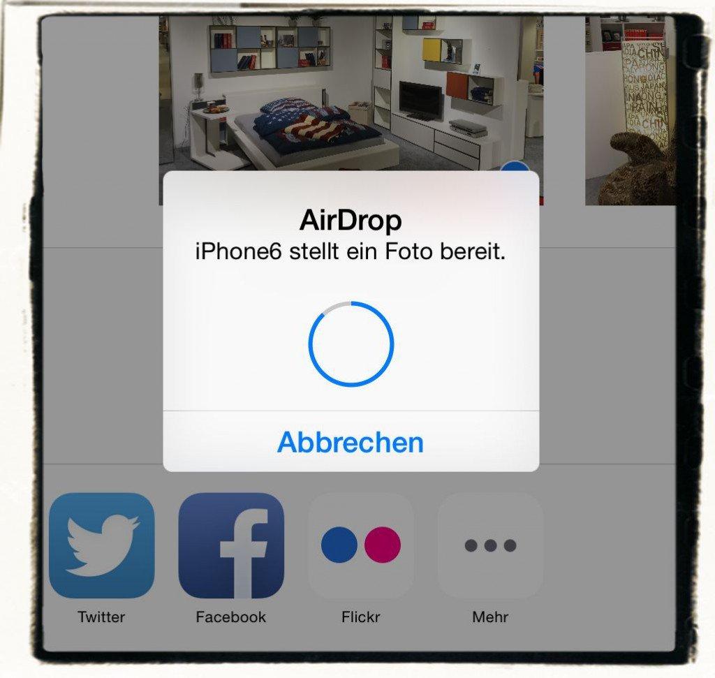 AirDrop,iPhone,iPad,Apple,Daten übertragen 6