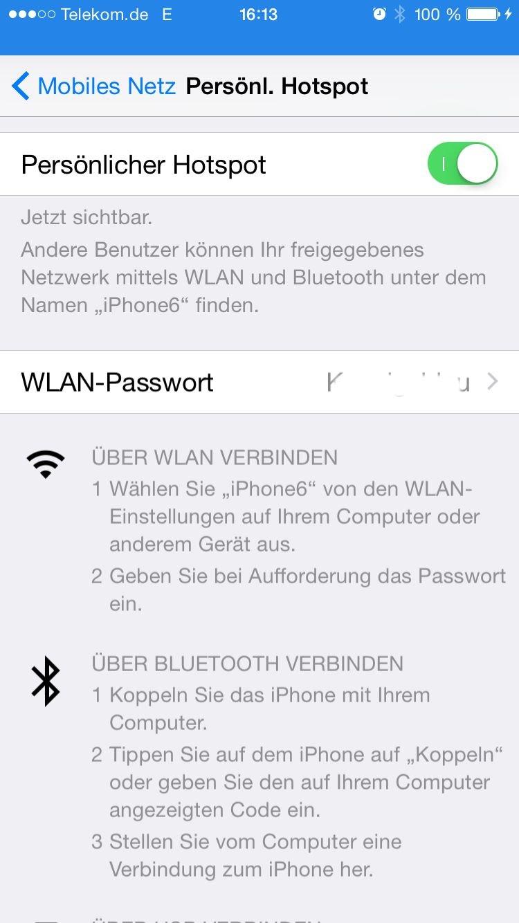 E-Mails Postfach per IMAP (zB 1und1) auf dem iPhone oder