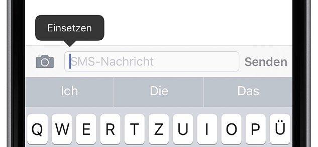 iPhone Text kopieren und woanders einfügen 3