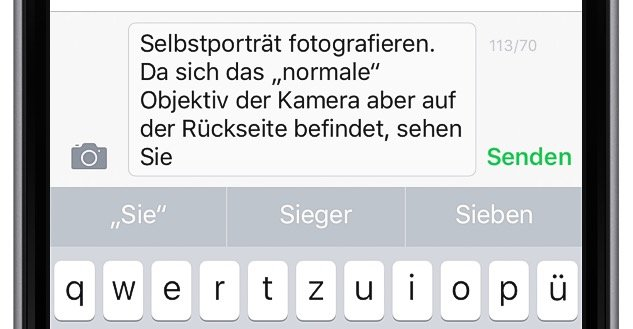 iPhone Text kopieren und woanders einfügen 4