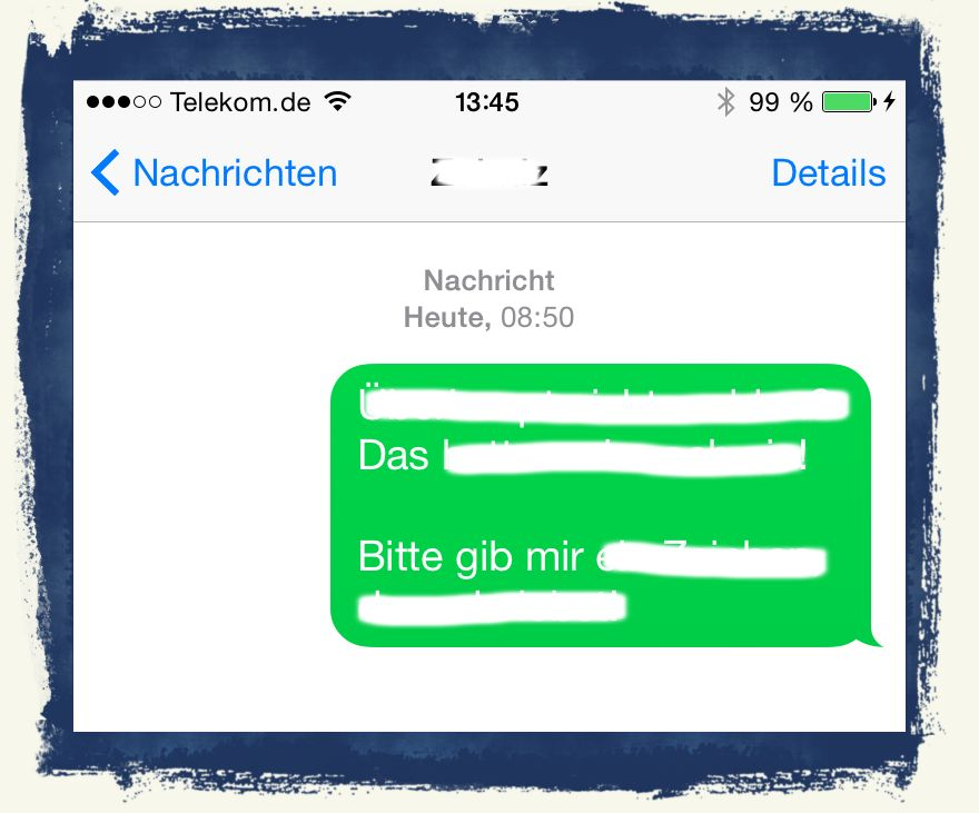 iPhone,SMS,sperren,Nachrichten,iMessage 1