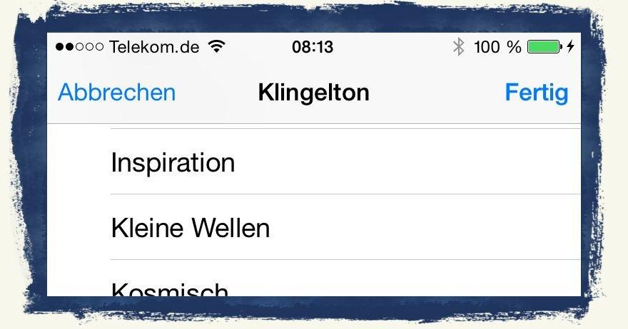 iPhone,Telefon,Klingelton,Kontakt,individuell,speziell,besonderer 3