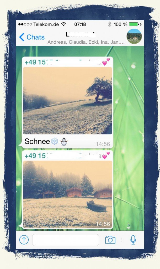 iPhone,WhatsApp,Foto,speichern,Camera Roll 1