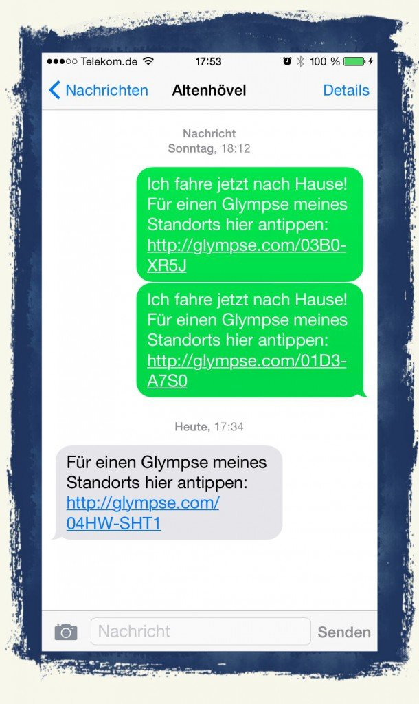 iPhone,iOS8,SMS,iMessage,Nachricht,Uhrzeit,anzeigen 01