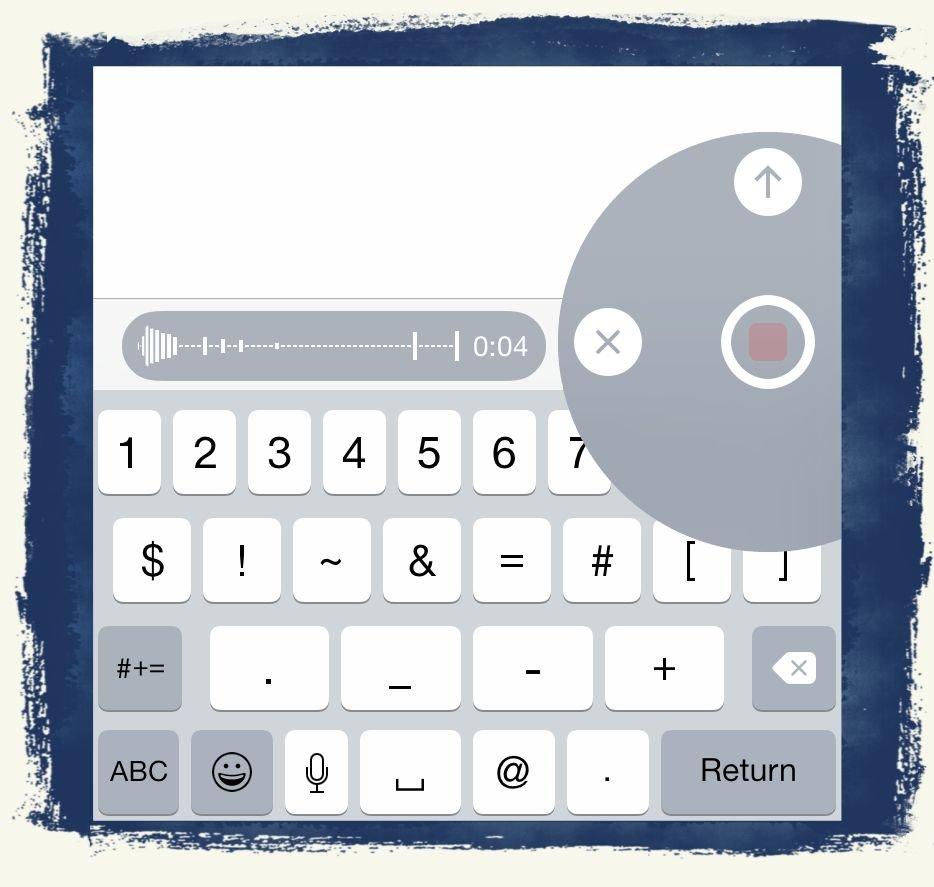 iPhone,iOS8,Sprachnachricht,Nachrichten,Audio,Audionachricht 5