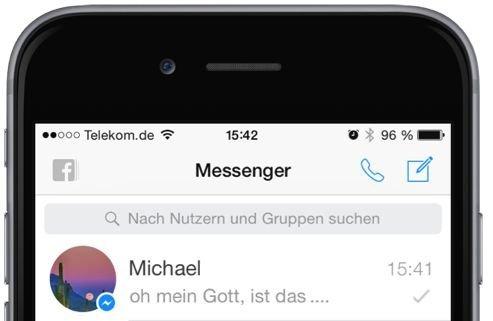 2 Facebook,Messenger,Update,Neue Symbole,gelesen,ungelesen,zugestellt,neu,alt,früher,heute