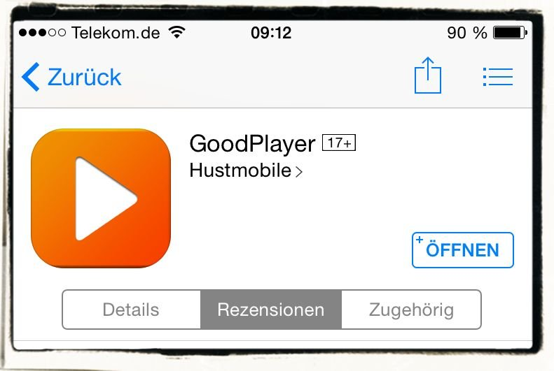 Fernsehen,live,Streaming,streamen,iPhone,iPad,FritzBox,AVM,Telekom Entertain,IPTV,GoodPlayer 3