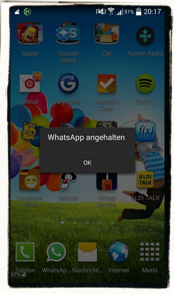 WhatsApp,2000,2.000,Zeichen,Absturz,Bug,Nachricht,Sicherheitslücke,Android,iPhone,iOS 2