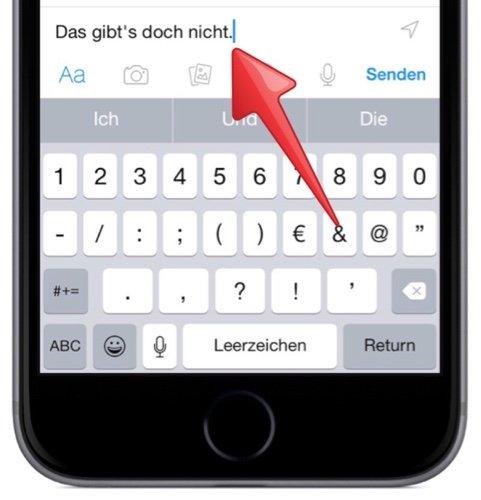 iPhoneAppleTextSMSiMessageNachrichtMailQuickTypeSatzzeichenPunktRufzeichenSatzende-3.jpg