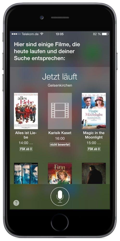 iPhone,Siri,Kino,Kinoprogramm,Film,Spielfilm,Kinofilm 2