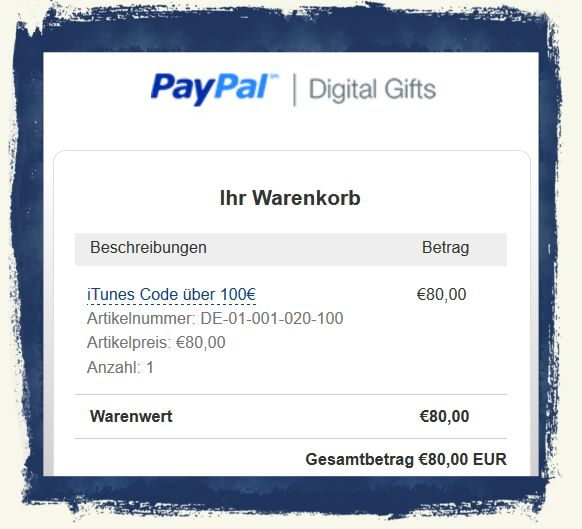 paypal rabattcode
