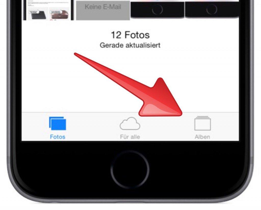 iPhone Foto Bild gelöscht versehentlich löschen retten wiederherstellen widerrufen 1
