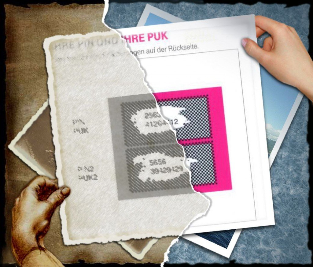 iPhone PIN SIM-Karte PUK ändern B