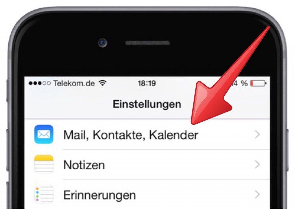 iPhone,Kalender,Wochennummer,Kalenderwoche,KW,anzeigen 2