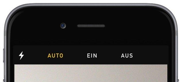 Kamera Foto Video Blitz einschalten ausschalten EIN AUS AUTO automatisch 1