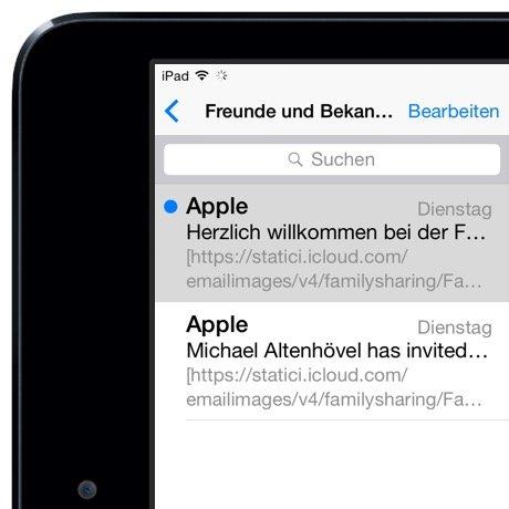iPad Mail gelesen ungelesen Markierung Wischgeste 3